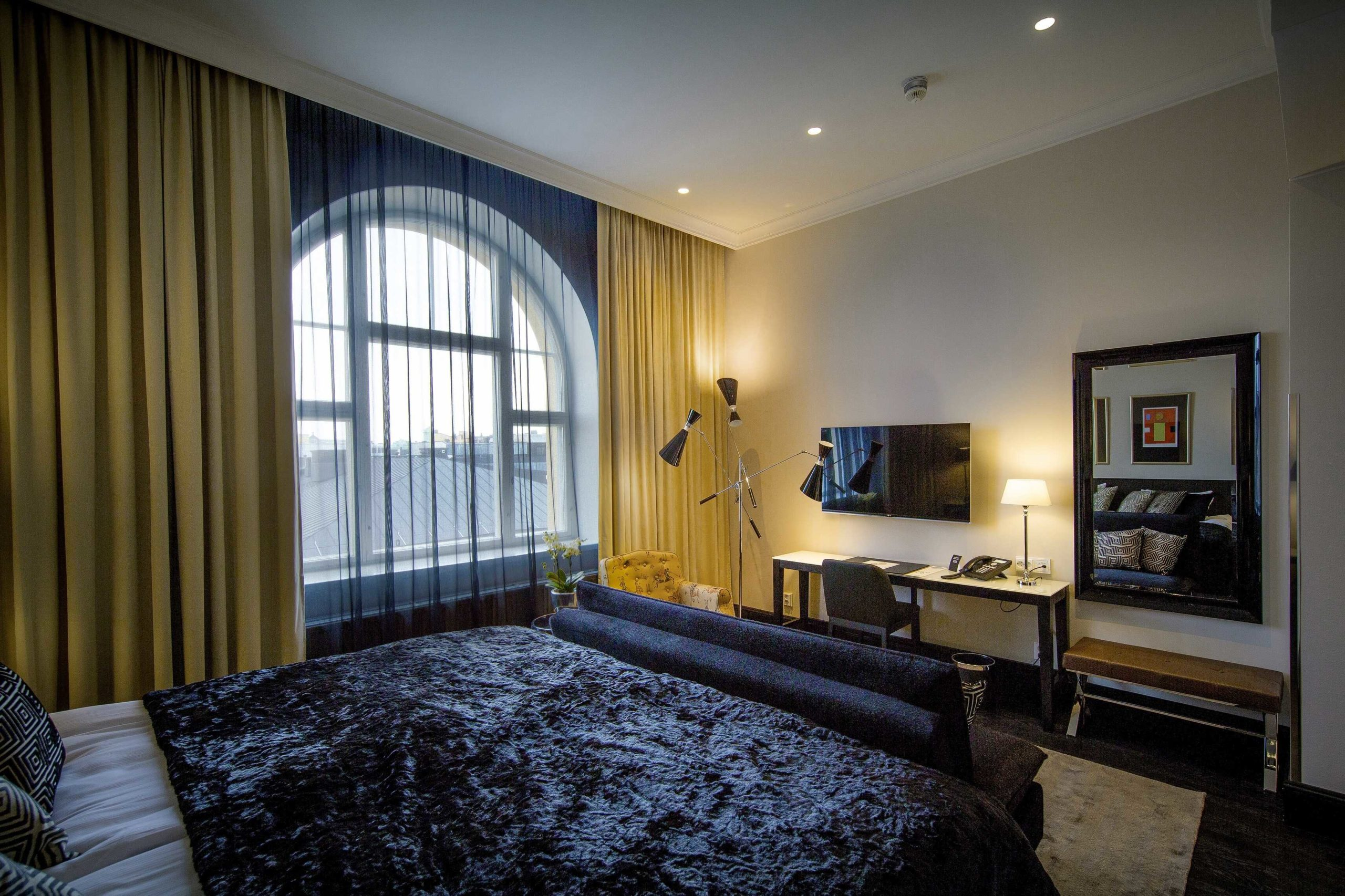 Tällä sängyllä Alvarkin mielellään pomppisi. Kuva: Lilla Roberts.