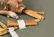 alvar kotimainen koiran puruluu hirvennahkaa